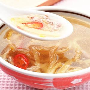 榨菜肉絲湯頭