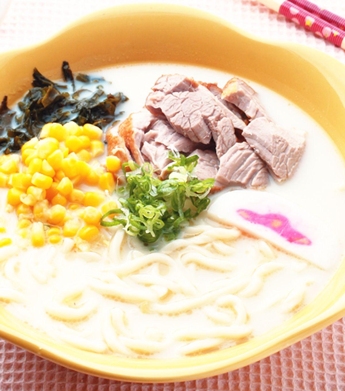 食譜:豚骨拉麵(1)