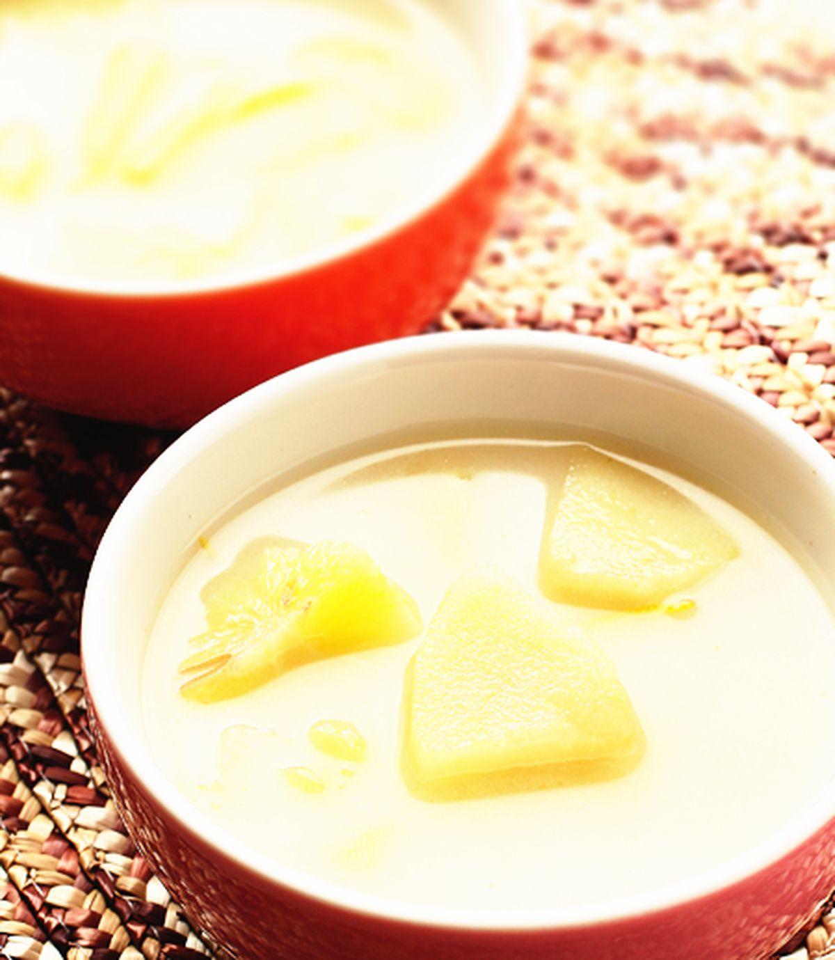 食譜:水果牛奶湯頭