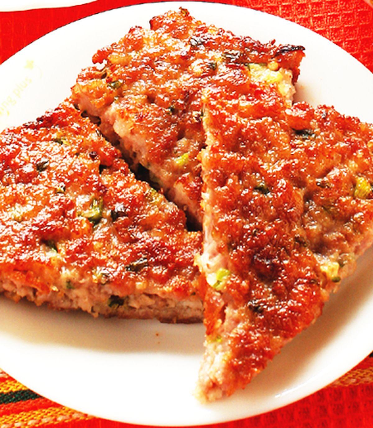 食譜:蔥煎肉餅