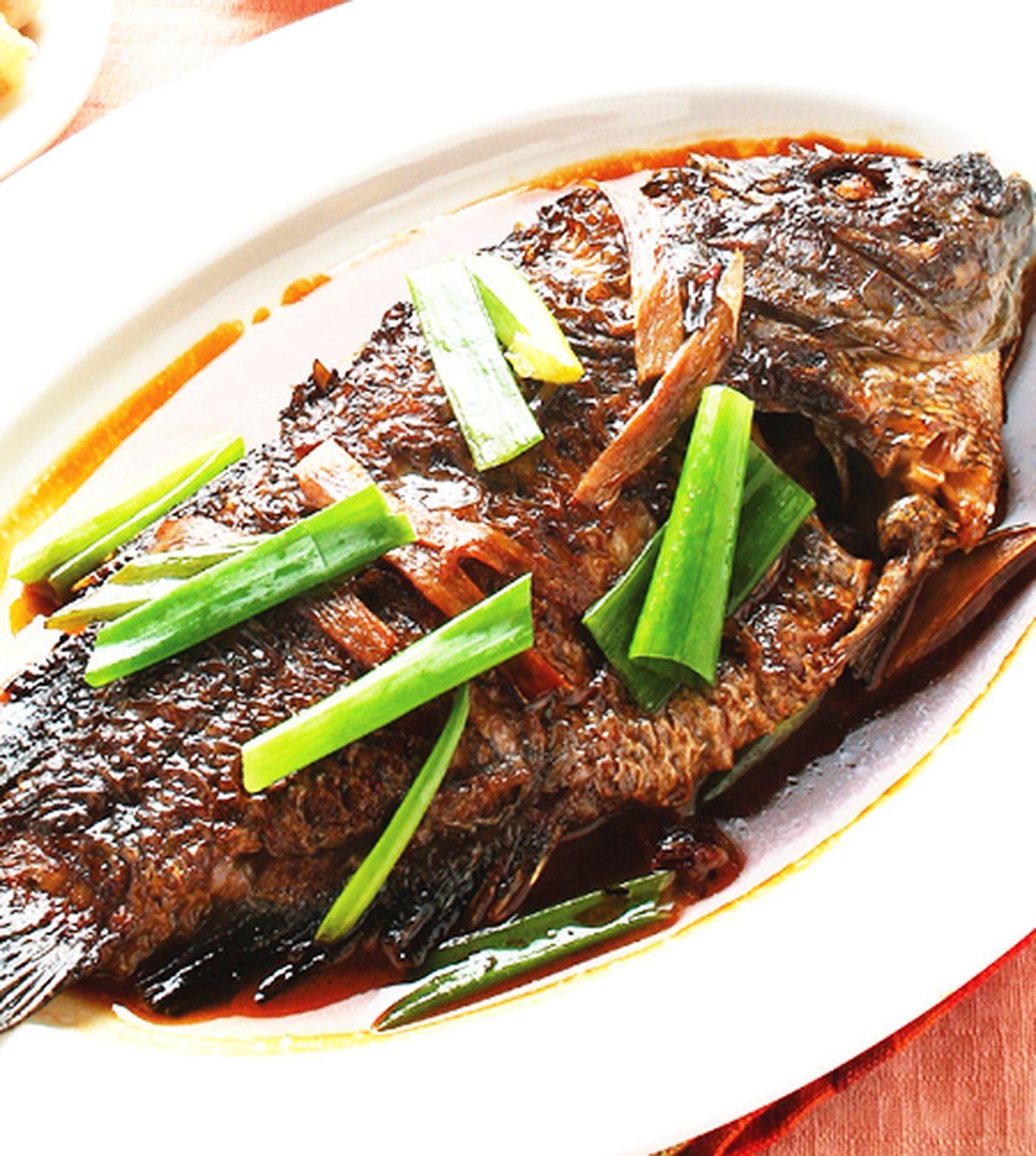 食譜:紅燒魚(2)