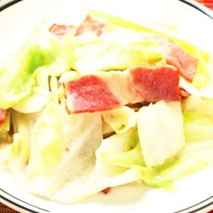 培根炒高麗菜(1)