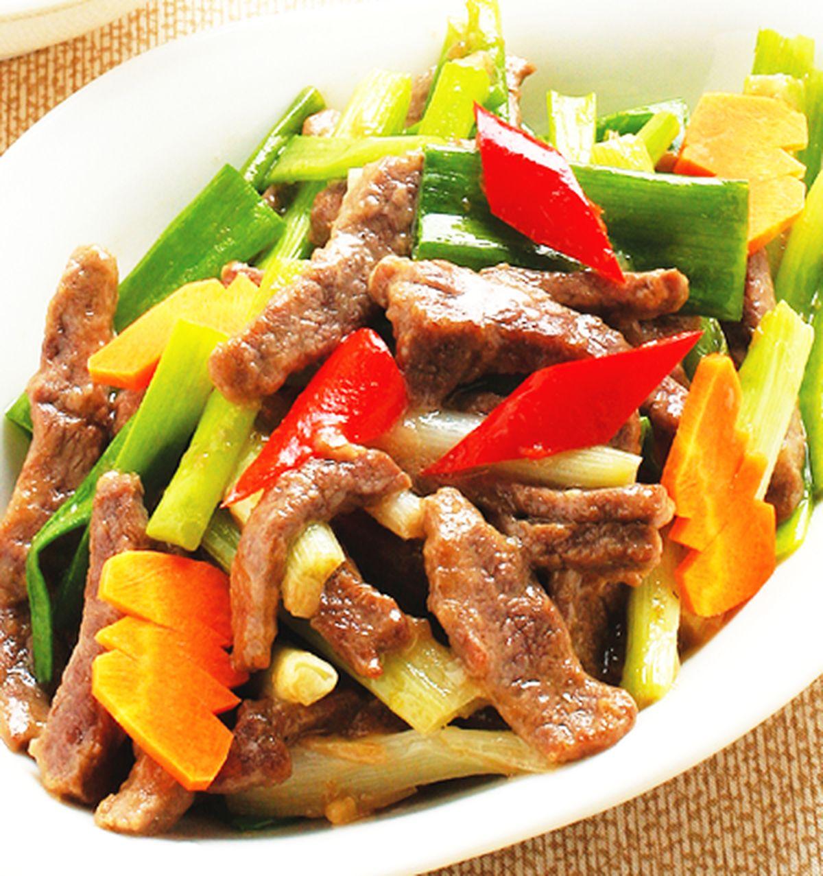 食譜:蔥爆牛肉(7)