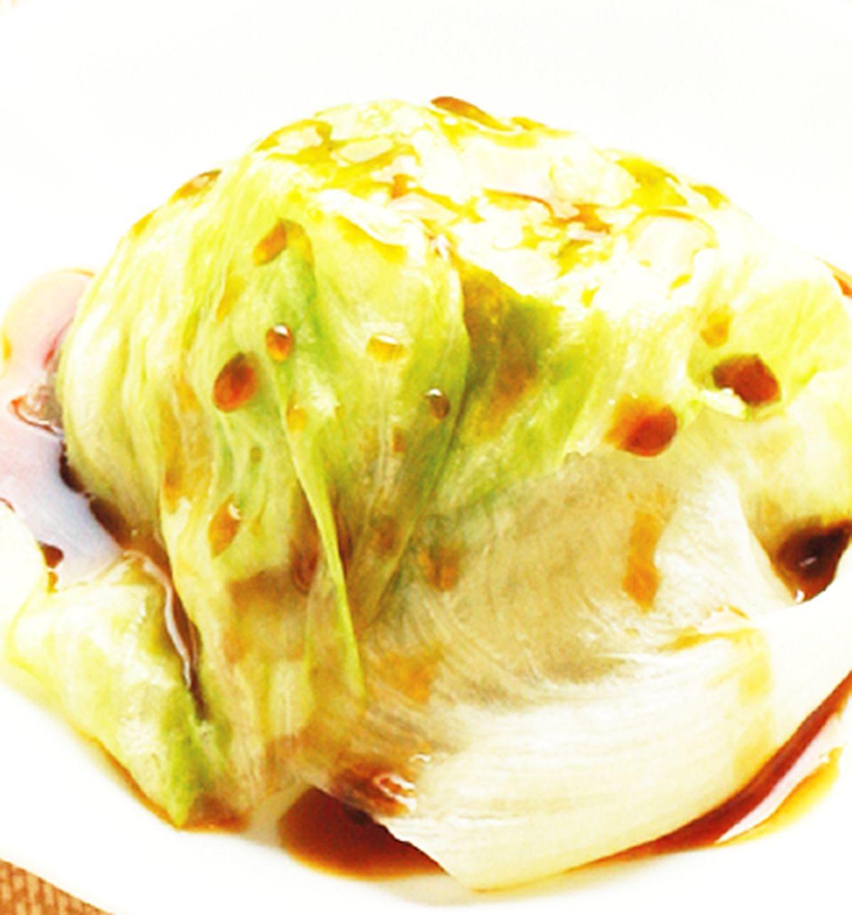 食譜:蠔油美生菜