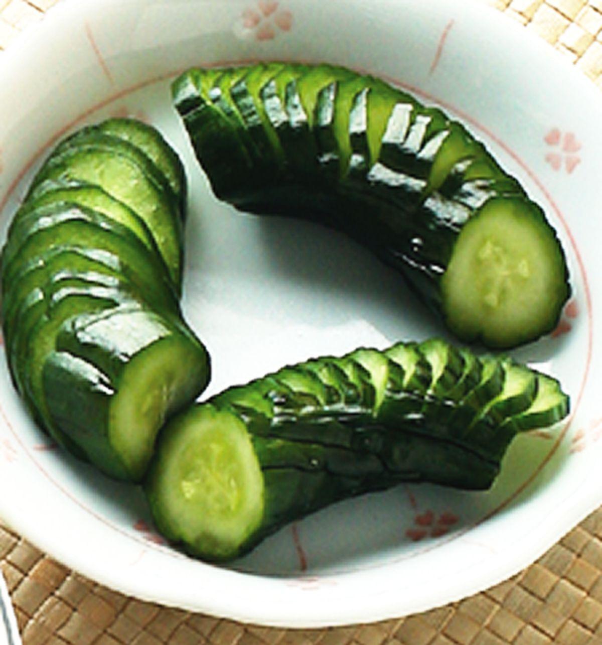 食譜:味噌醃小黃瓜