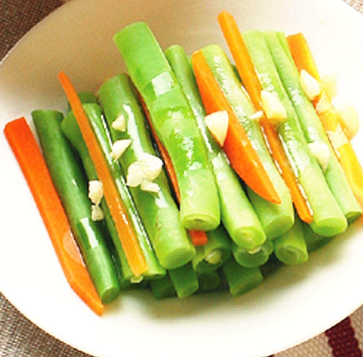 食譜:涼拌四季豆(1)