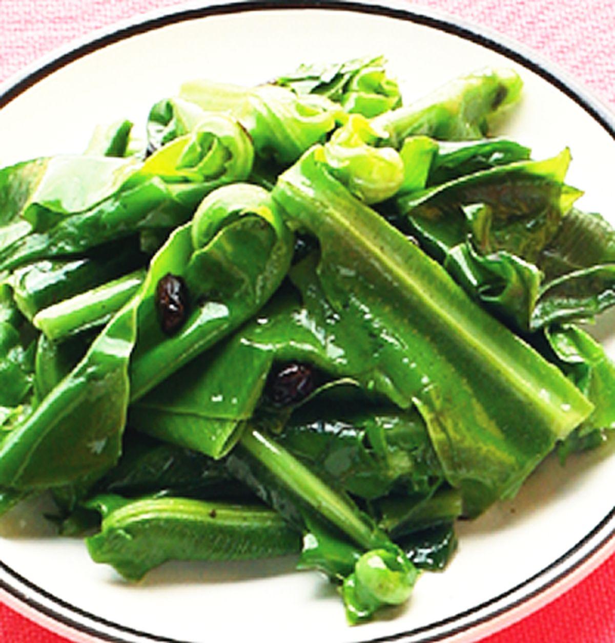 食譜:炒山蘇