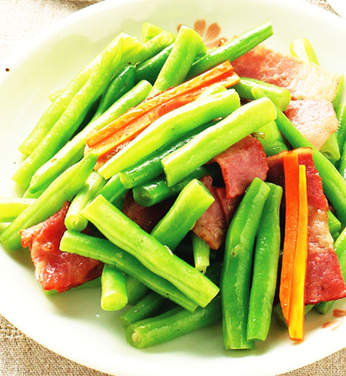 食譜:培根四季豆(1)