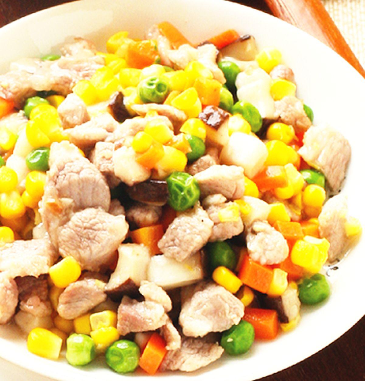 食譜:炒四色蔬菜
