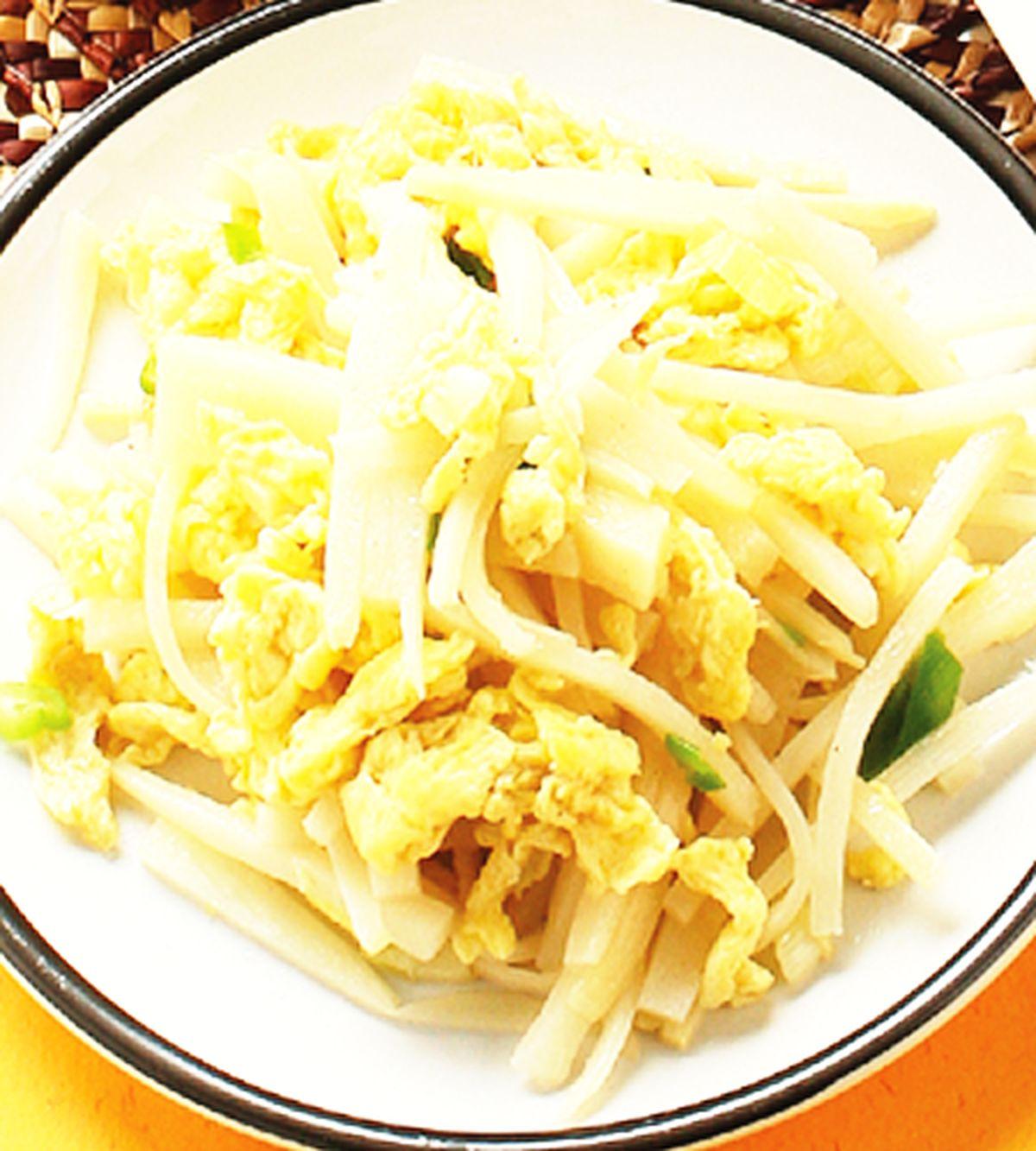 食譜:竹筍炒蛋
