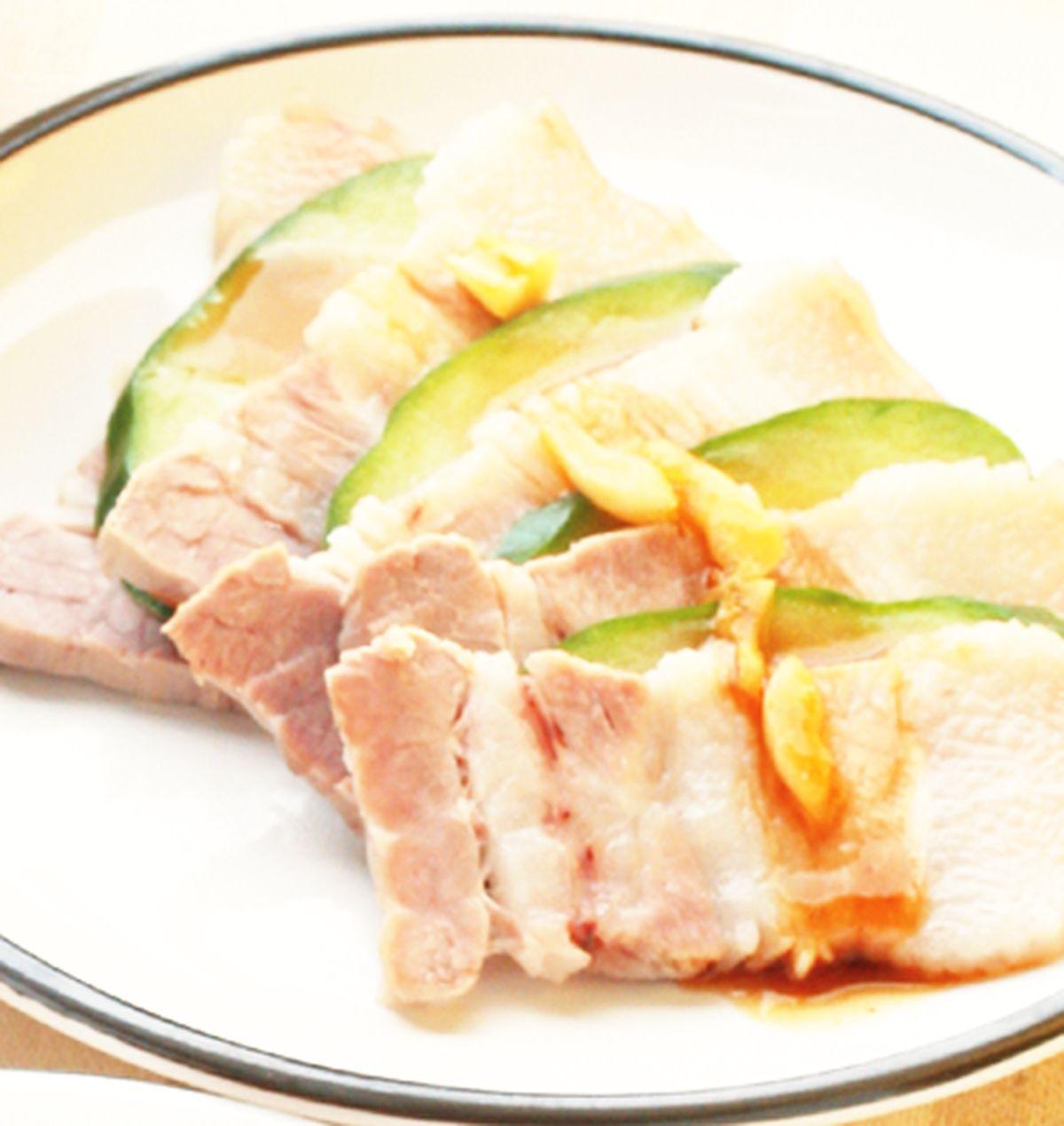 食譜:蒜泥白肉(4)