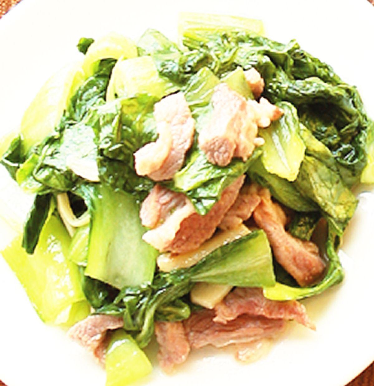 食譜:炒清江菜