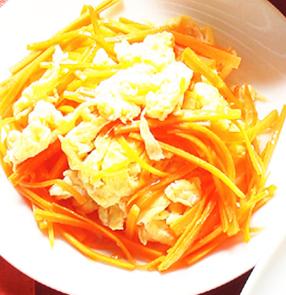 食譜:紅蘿蔔炒蛋(2)