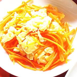 紅蘿蔔炒蛋(2)
