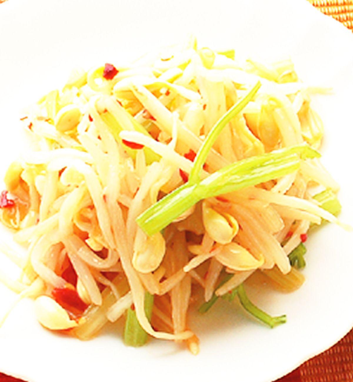 食譜:拌黃豆芽
