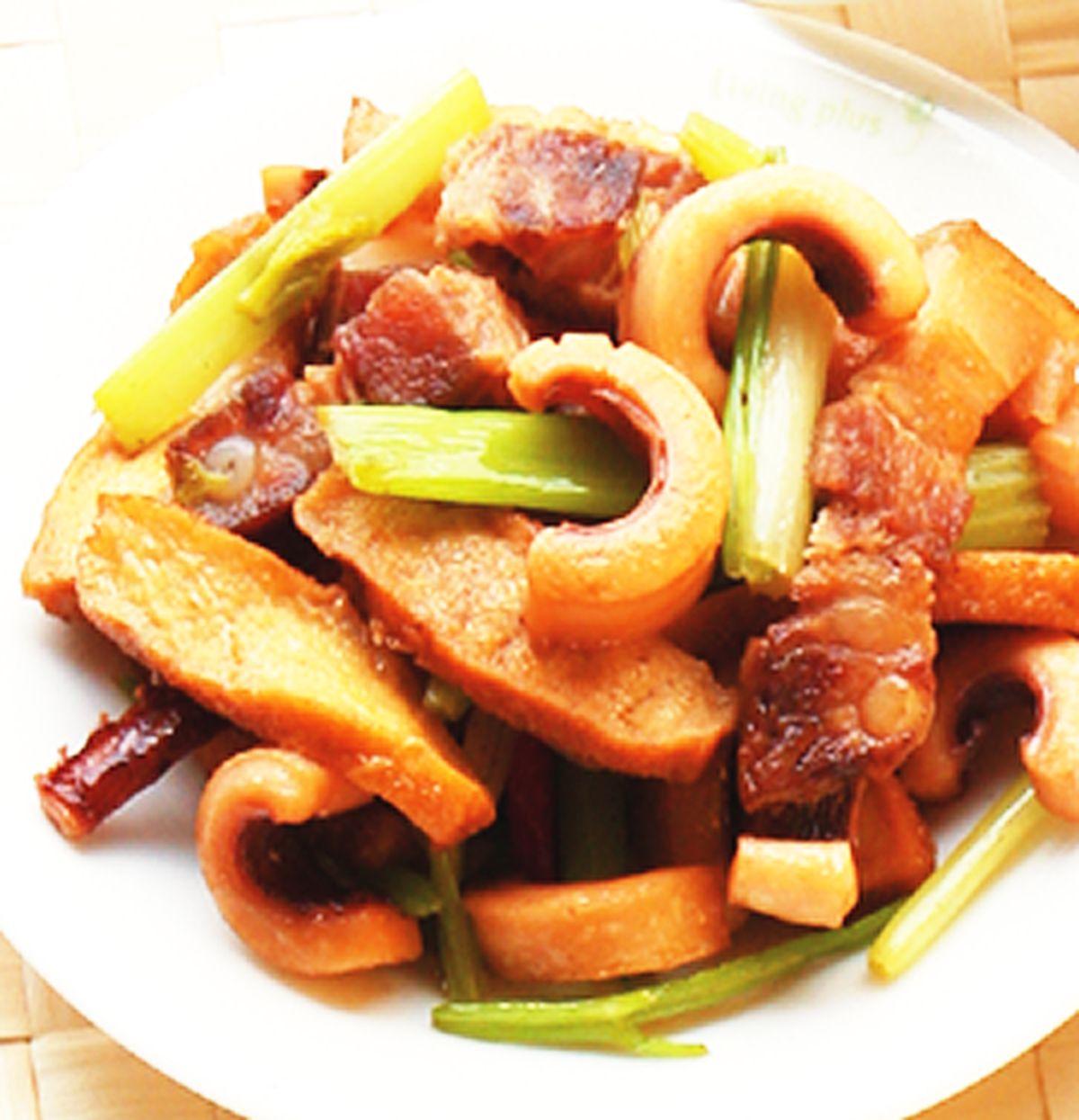 食譜:客家小炒(6)