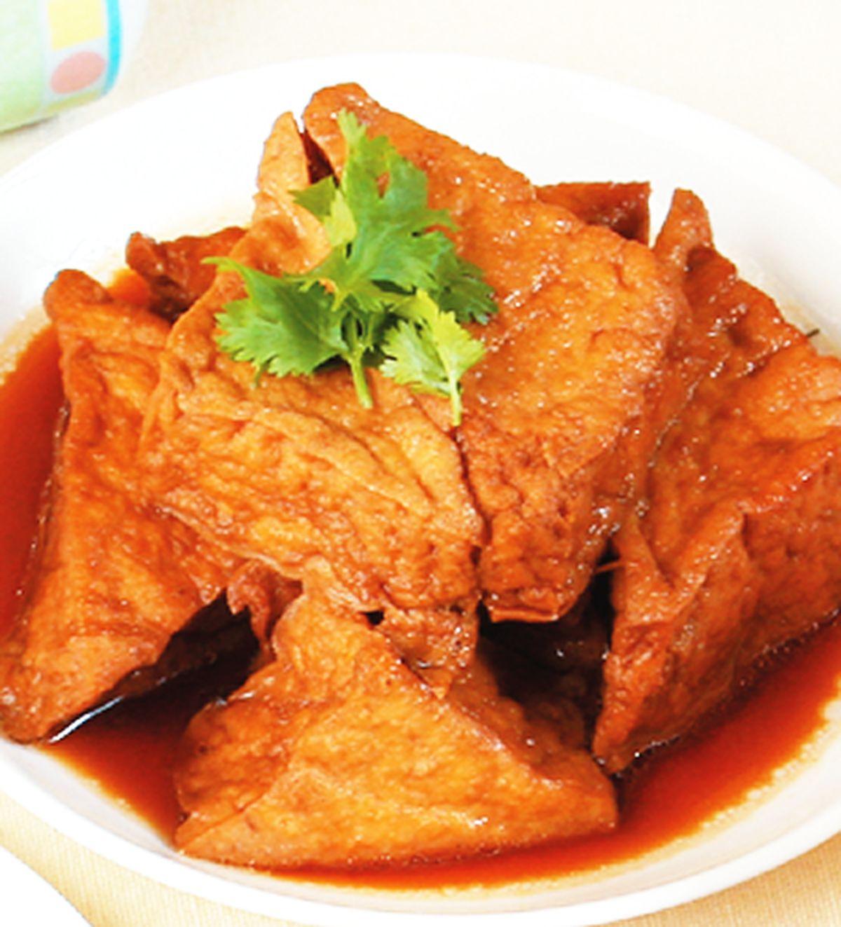 食譜:滷三角油豆腐