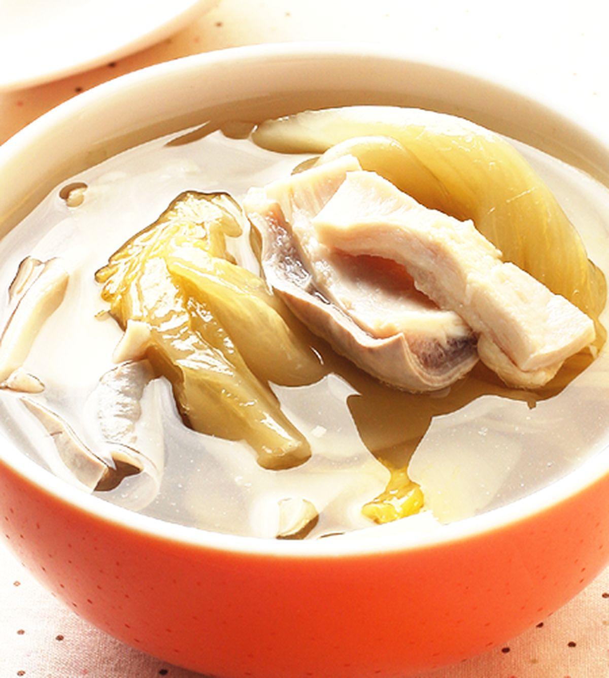 食譜:酸菜肚片湯(1)