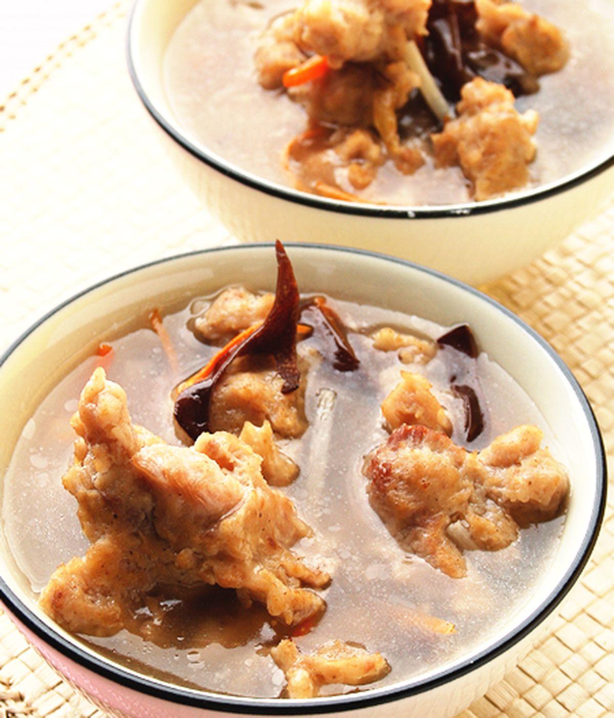 食譜:肉羹湯