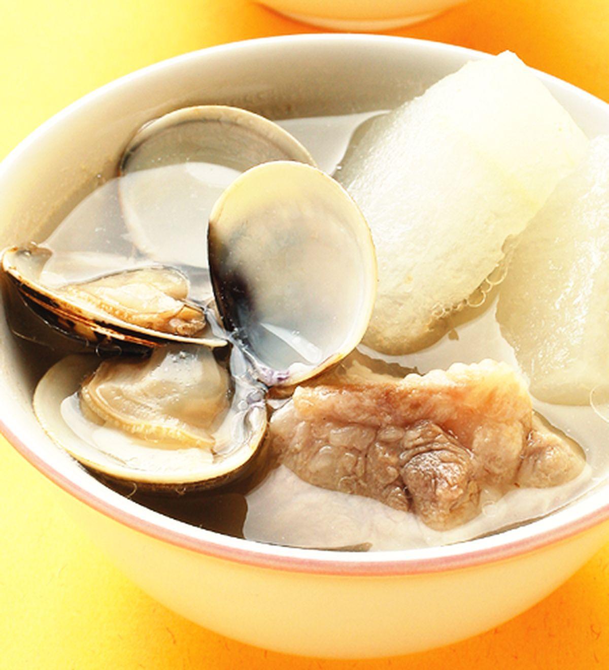 食譜:蛤蠣冬瓜排骨湯