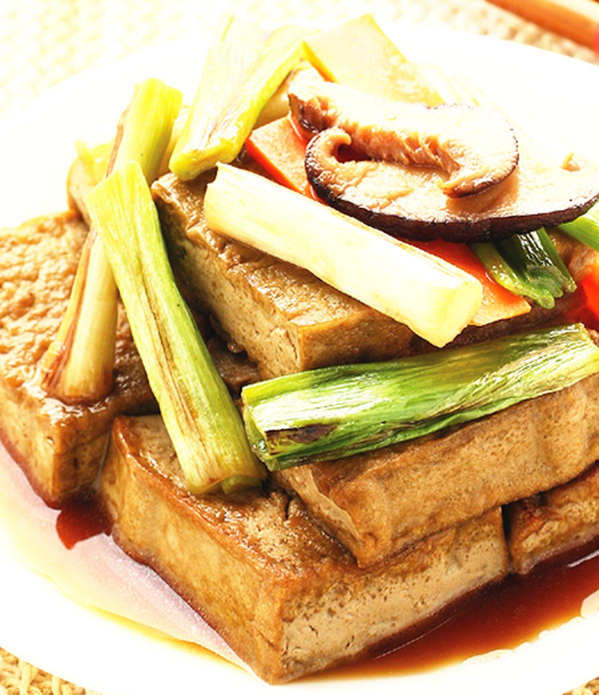 食譜:蔥燒豆腐