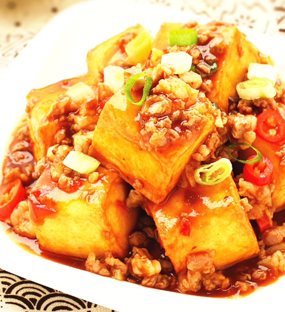 食譜:魚香豆腐(1)