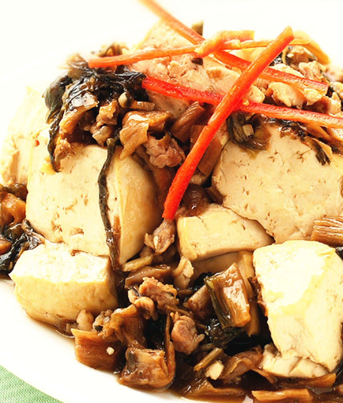 食譜:山崩豆腐