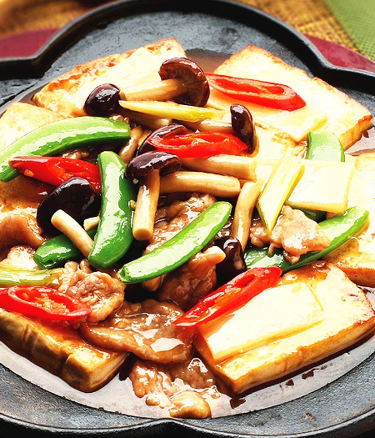 食譜:鐵板豆腐(3)
