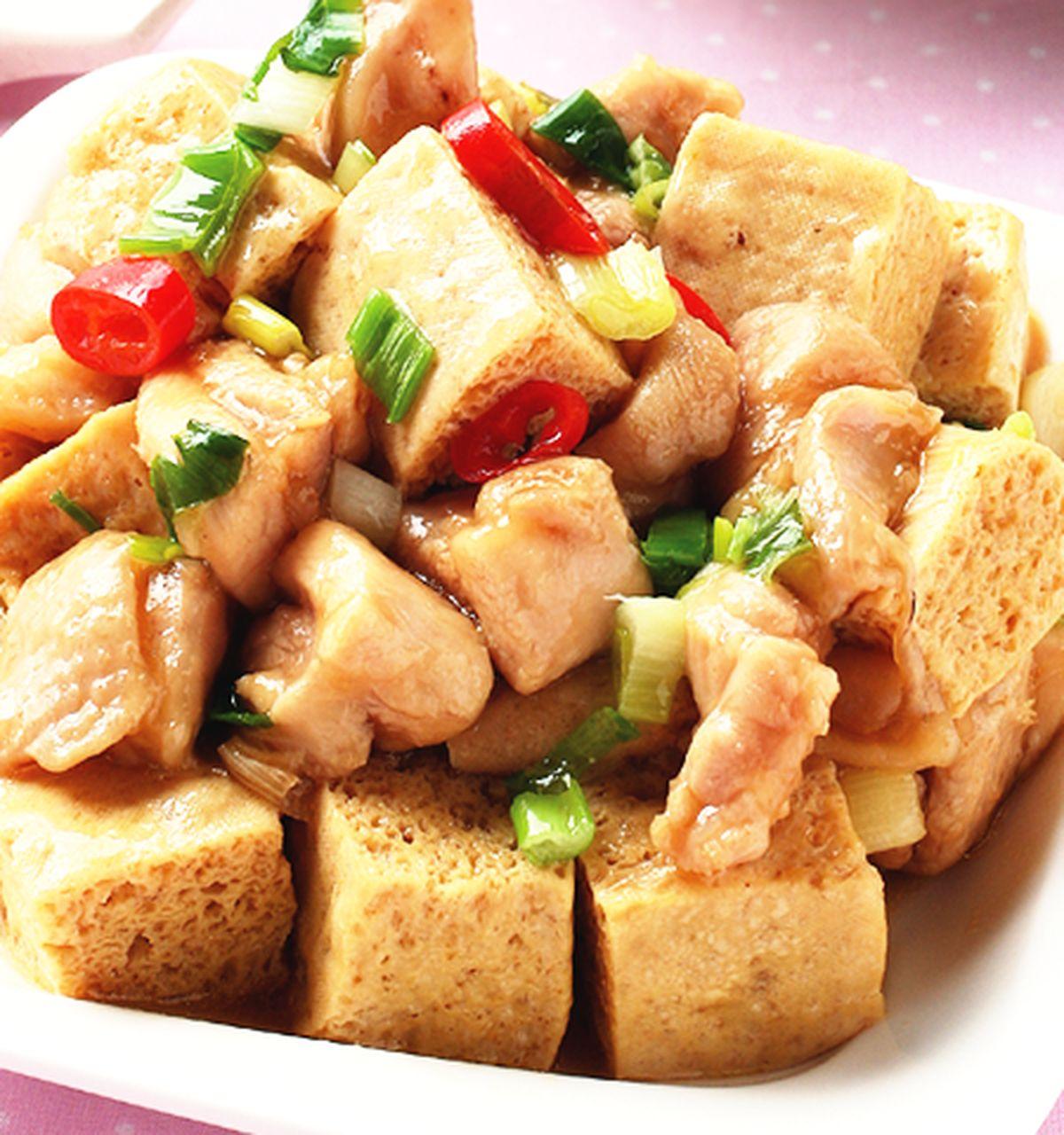 食譜:雞家豆腐