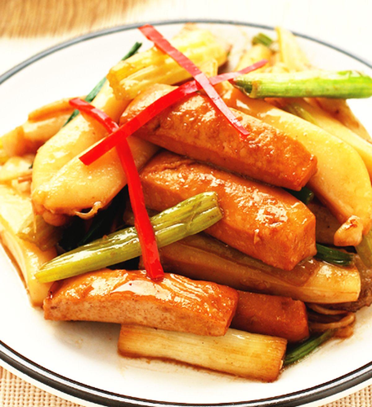 食譜:花枝炒豆干