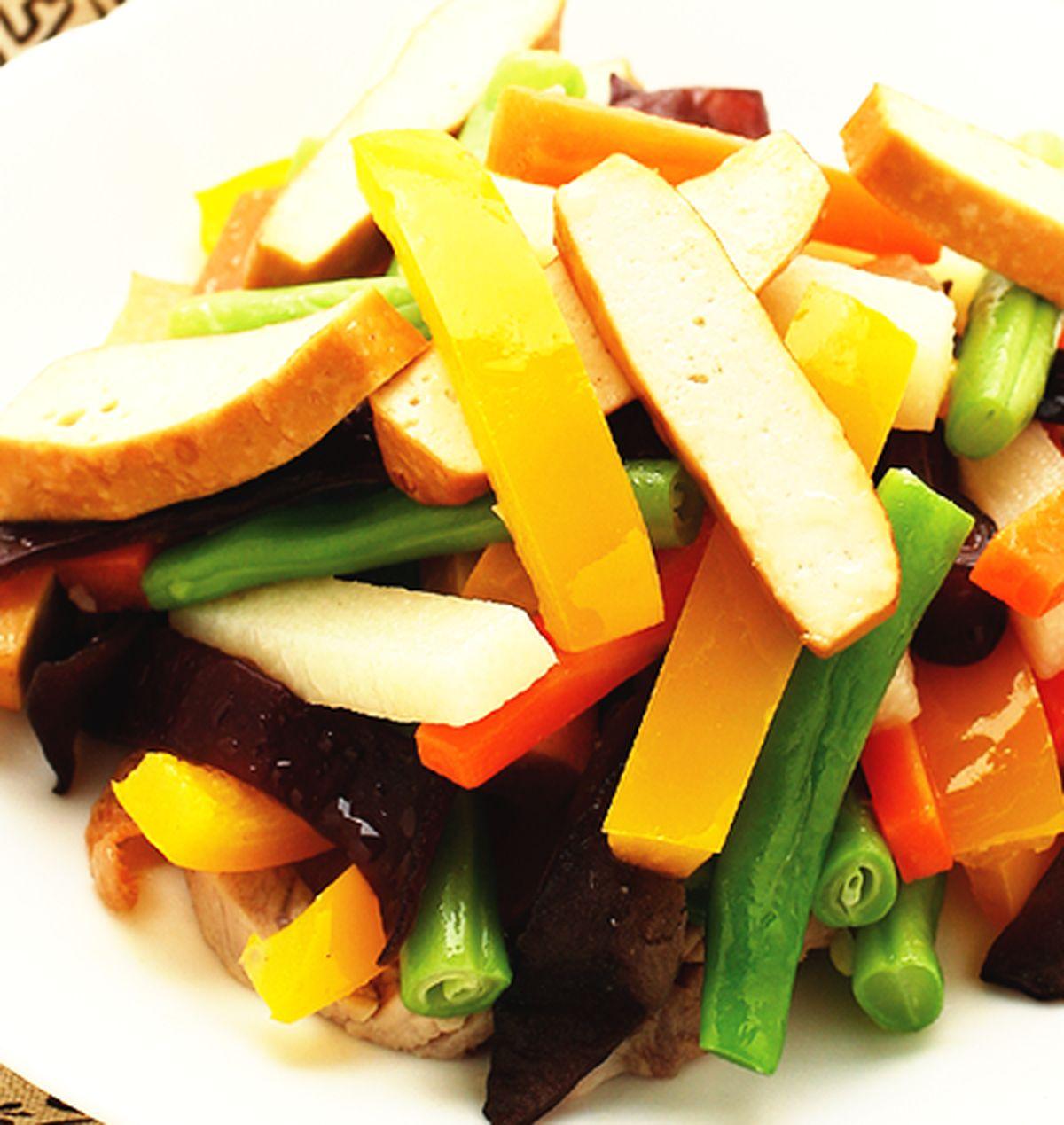 食譜:青蔬炒豆干