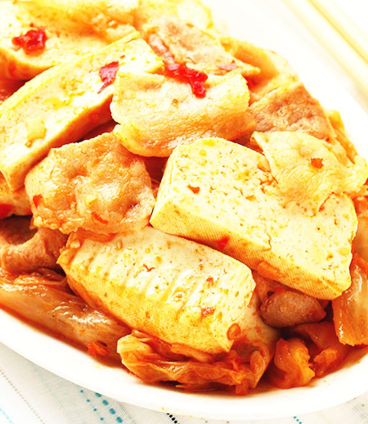食譜:泡菜炒豆干