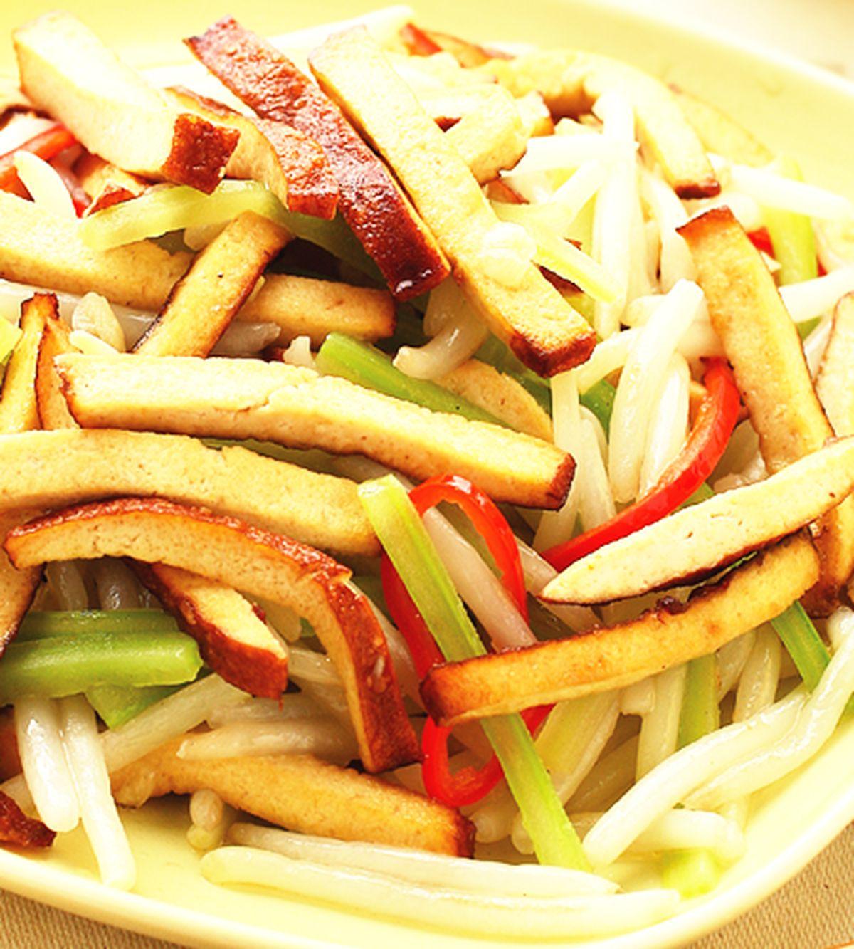 食譜:銀芽炒豆干