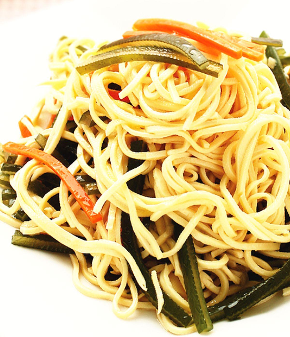食譜:海帶絲炒白干絲