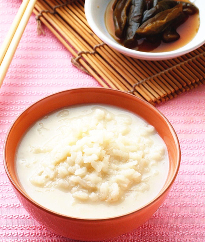 食譜:豆漿清粥