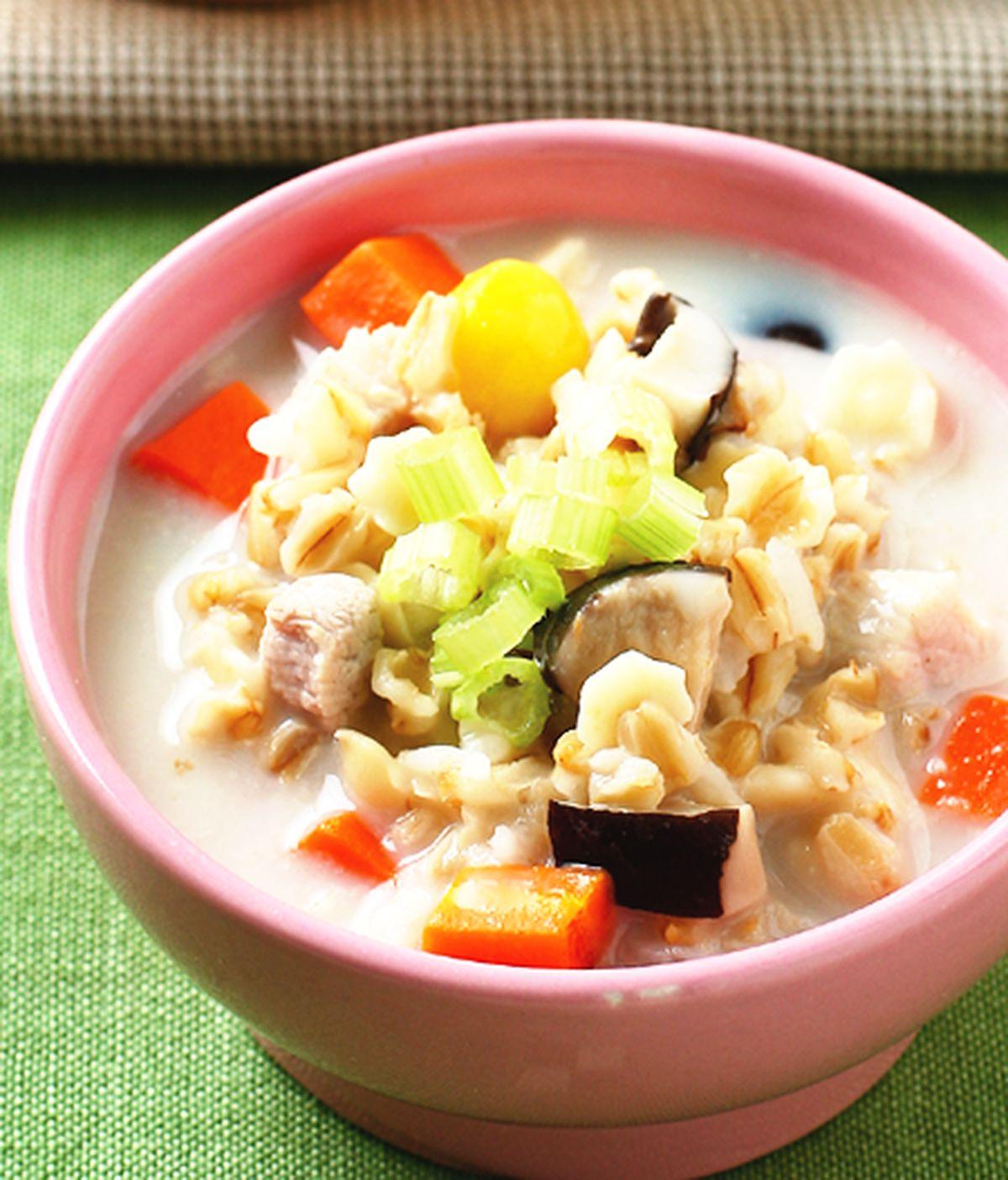 食譜:豆漿鹹粥