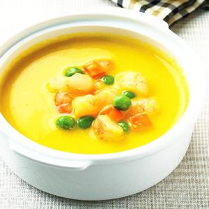 南瓜豆漿濃湯