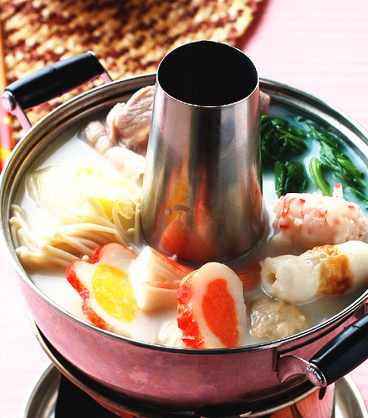 食譜:豆漿火鍋