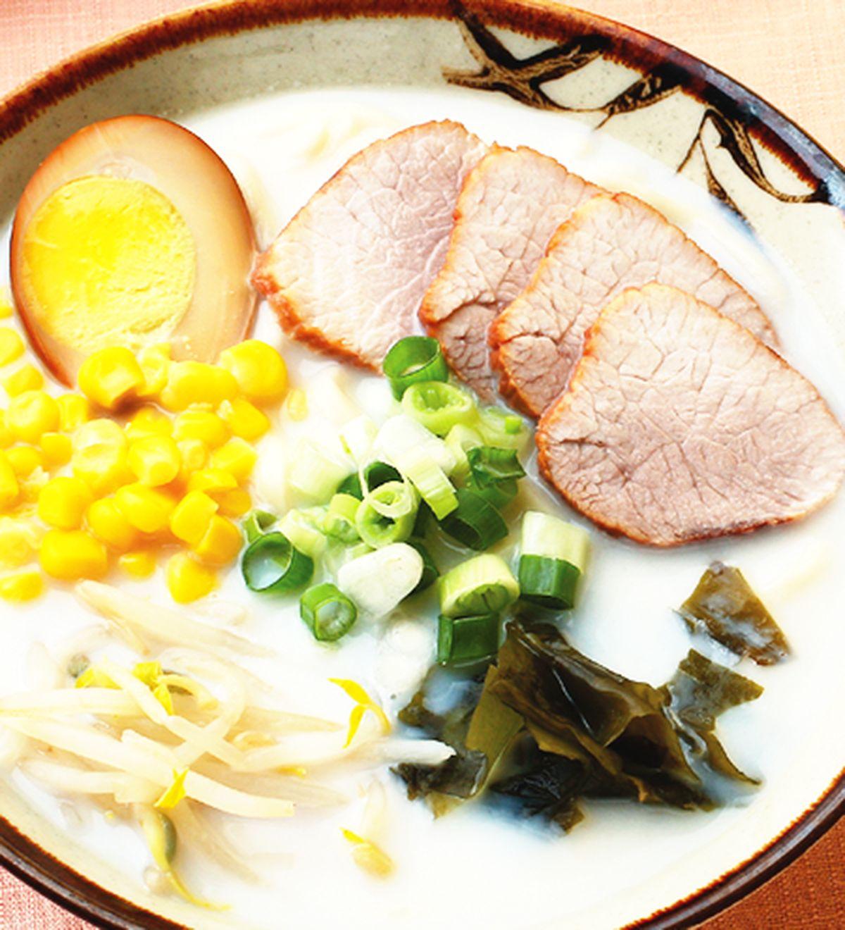 食譜:豆漿拉麵(1)