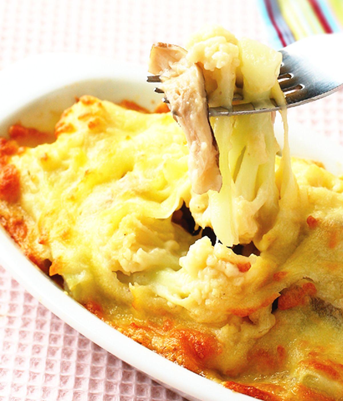 食譜:豆漿焗烤花椰菜