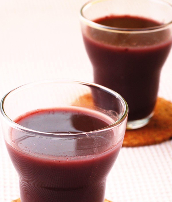 食譜:紫米漿