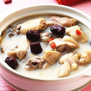 糙米漿燉雞湯
