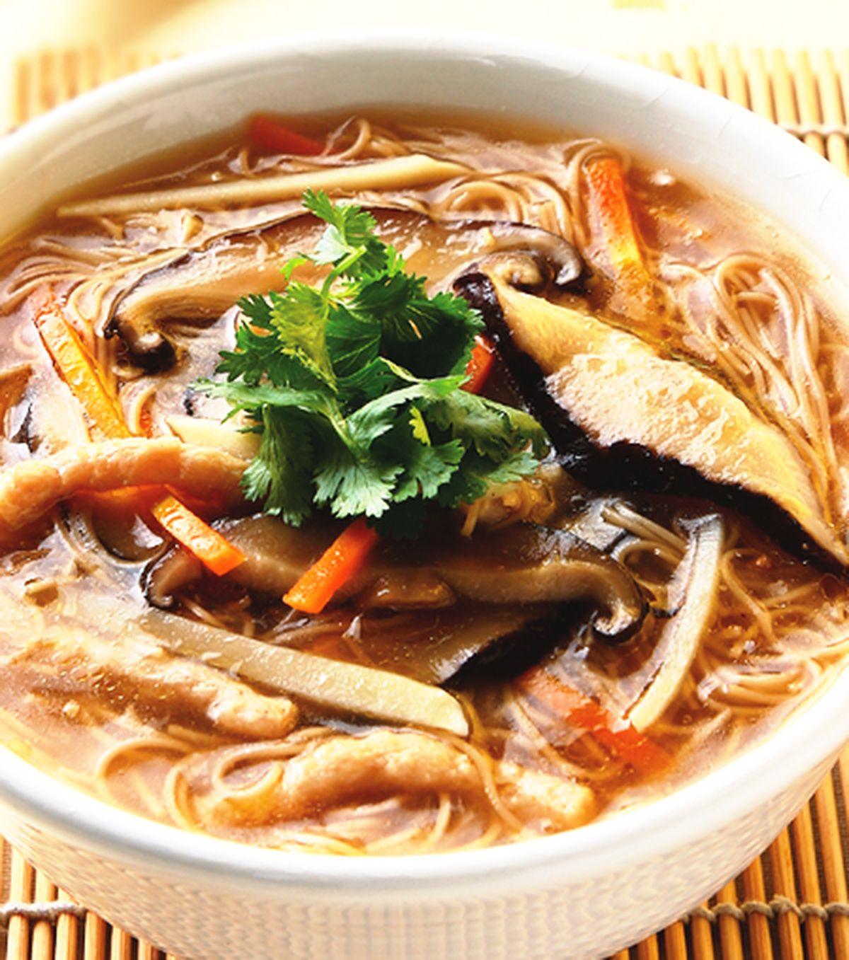 食譜:香菇素麵線