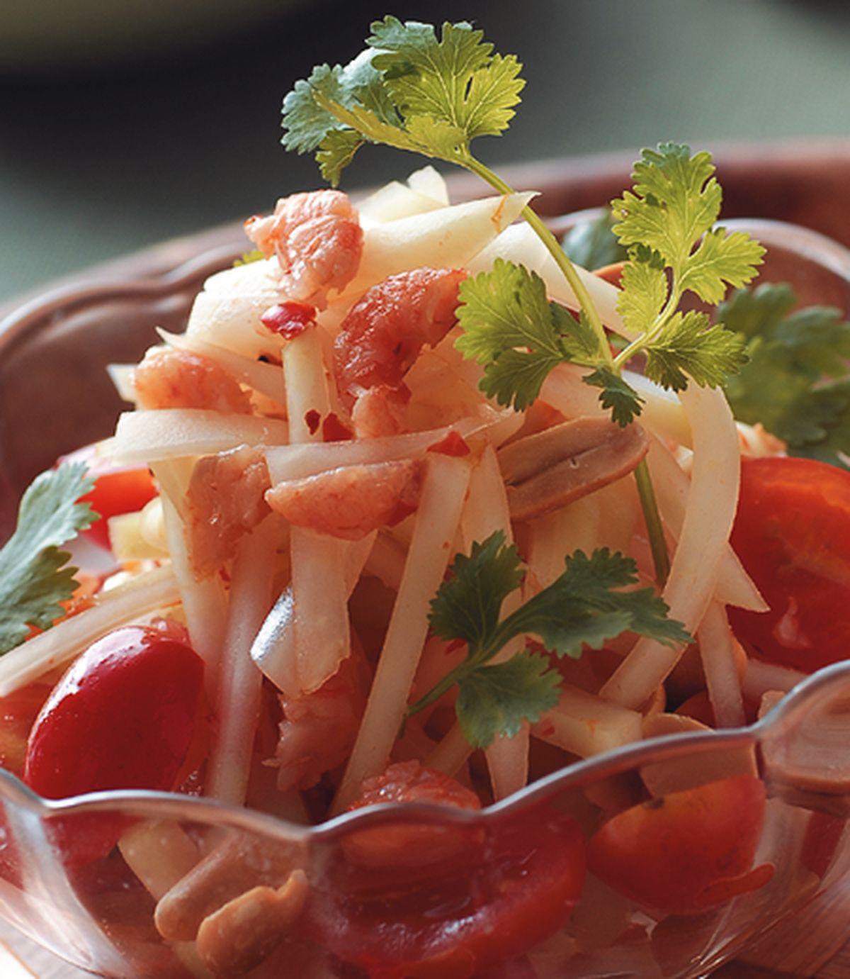 食譜:涼拌青木瓜絲(1)