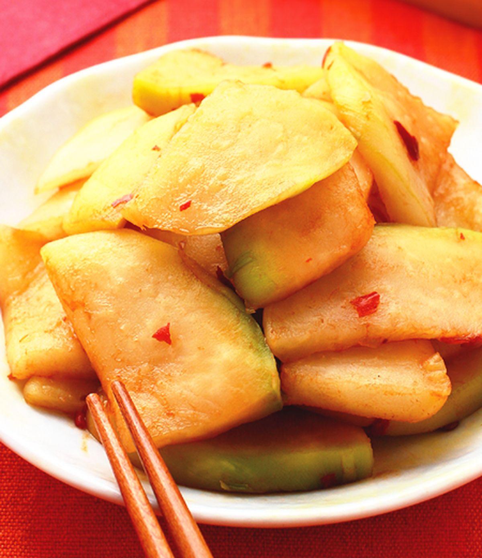 食譜:醃大頭菜