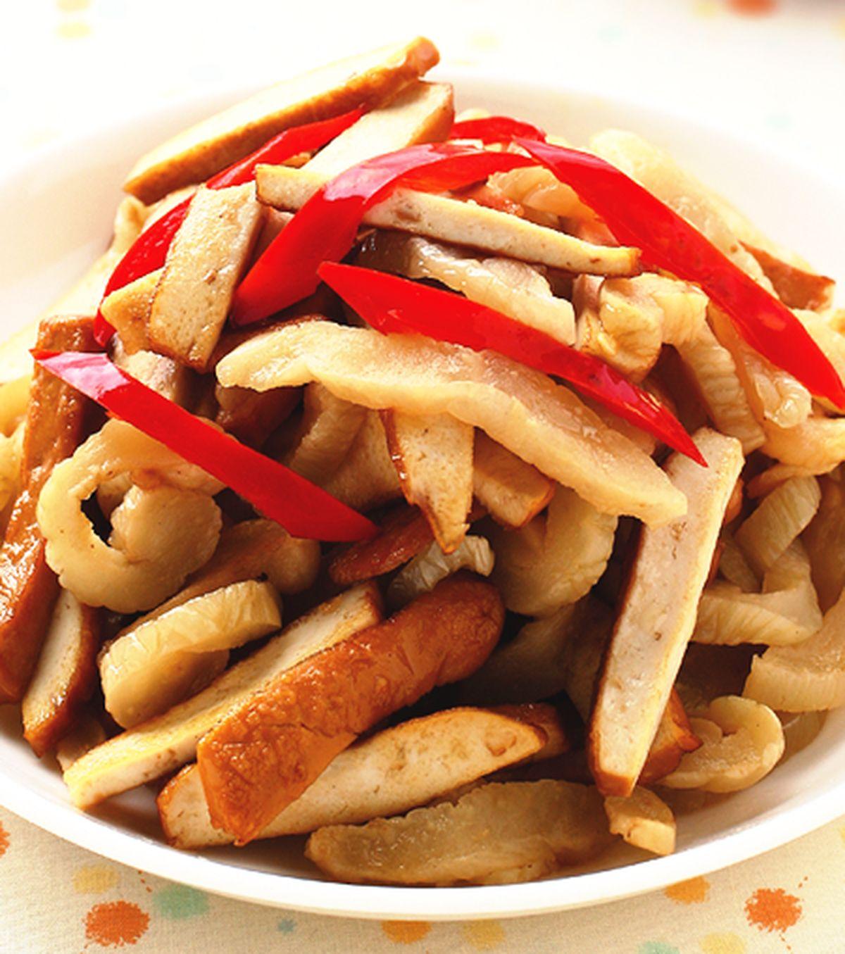 食譜:越瓜脯炒豆乾