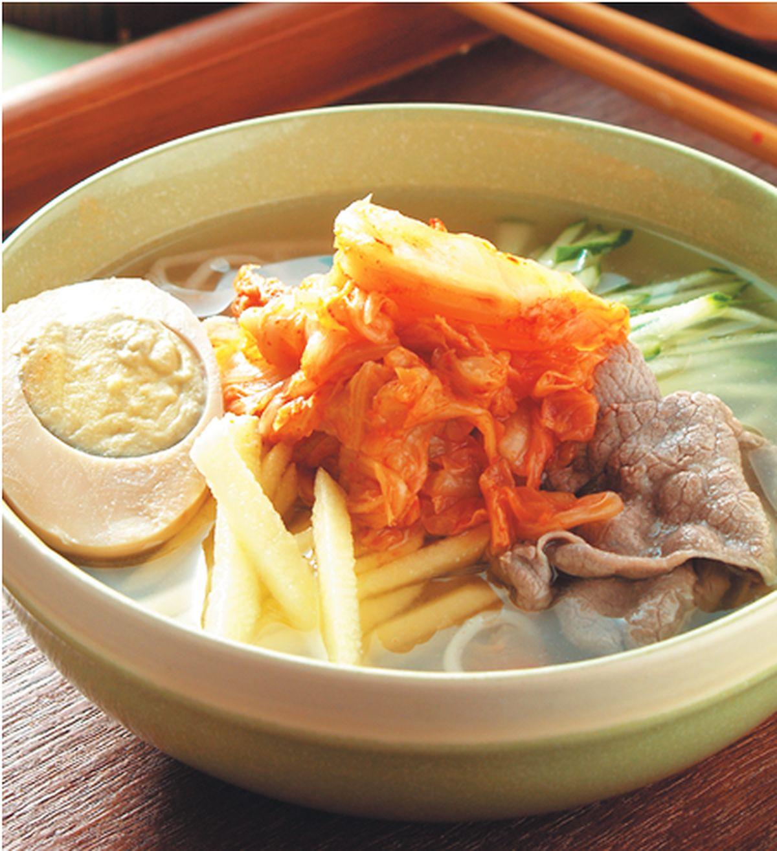 食譜:韓式冷湯麵(1)