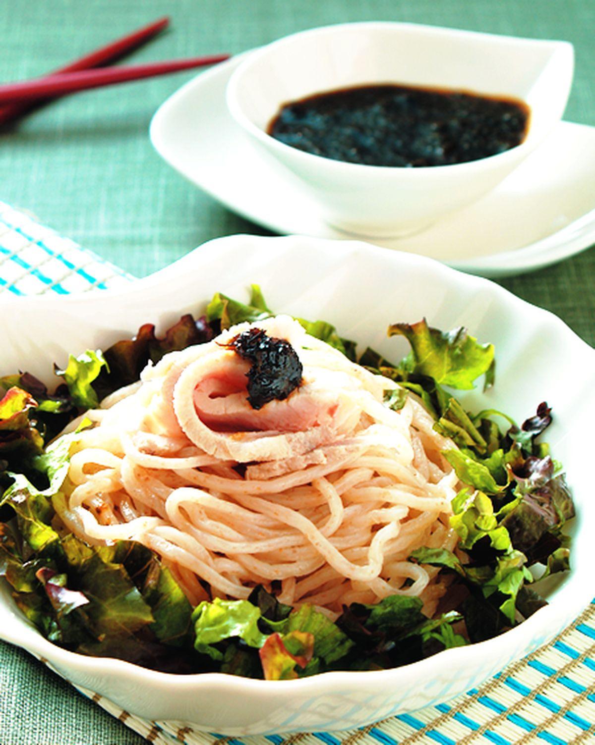 食譜:海苔醬涼麵