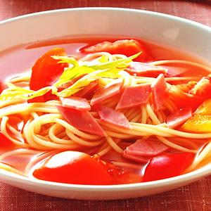 茄汁冷湯麵