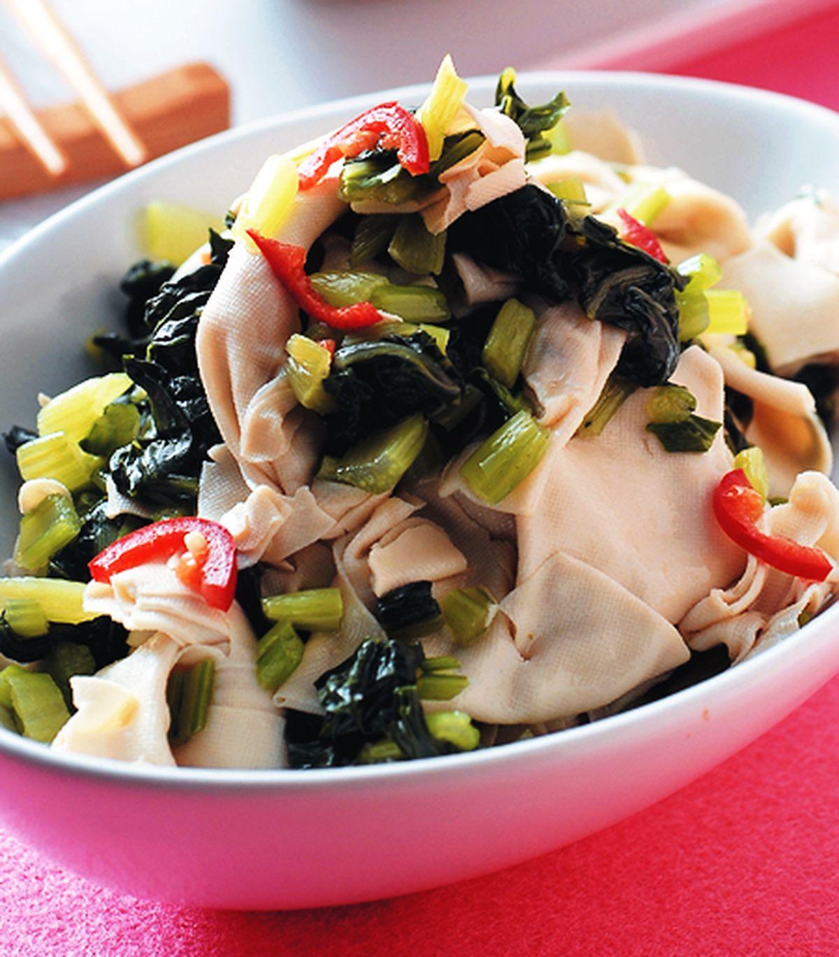 食譜:雪菜拌千張